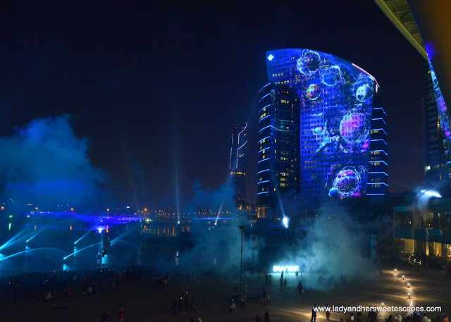Imagine show at Dubai Festival City