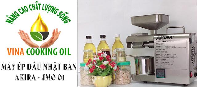 máy ép dầu ăn siêu sạch nhật bản