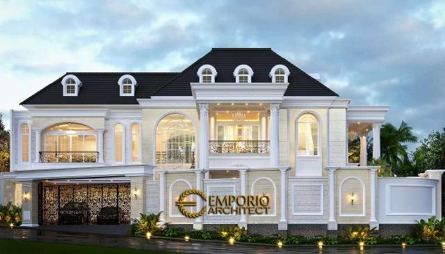 Rumah Elegan Style Classic Tropis – Ibu Lita, Cibubur