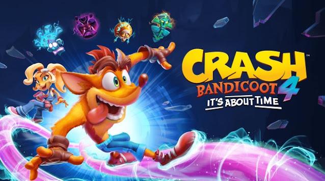 لعبة Crash Bandicoot 4 It's About Time للكمبيوتر