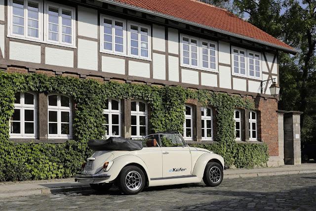 Volkswagen Fusca recebe motor elétrico do e-Up!