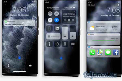 download tema oppo iphone 11 dark