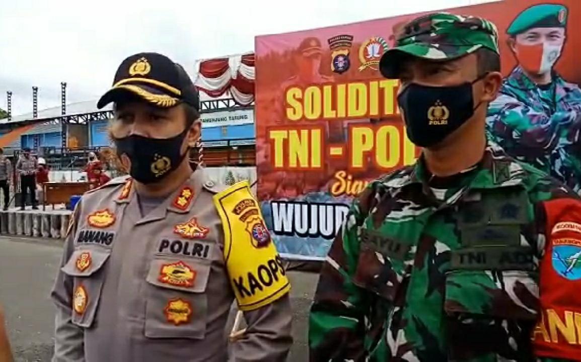 Siap Hadapi Ancaman Konflik Sosial Dan Sengketa Pilkada, TNI-Polri Perkuat Solidaritas