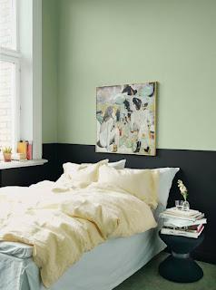 Berbagai Paduan Warna Mint Untuk Interior Kamar Tidur