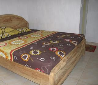 kasur tidur homesatay liandri karimun jawa
