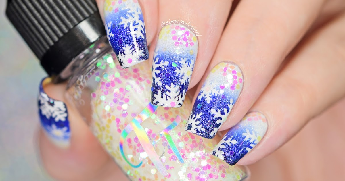 Simply Nailogical Snowflake Nail Art Then A Dog Peed On It