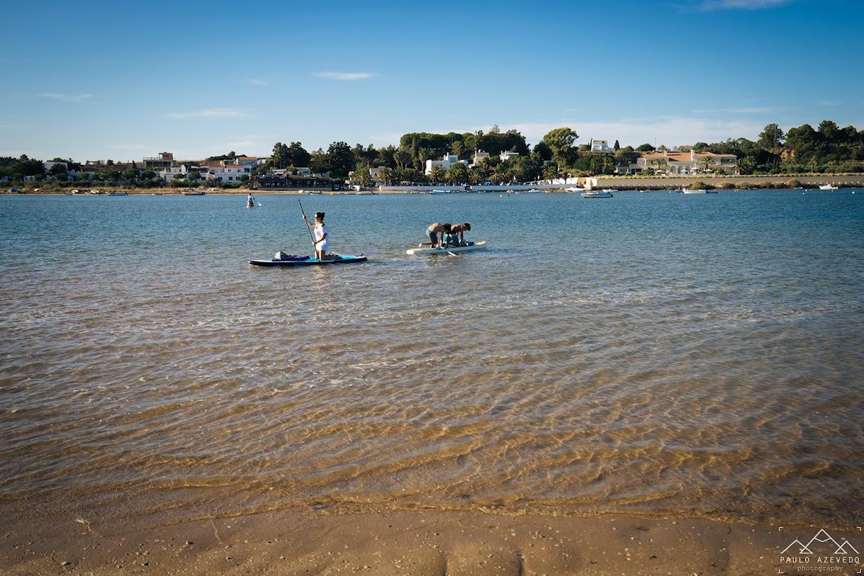 De stand-up paddle até à Praia da Fábrica