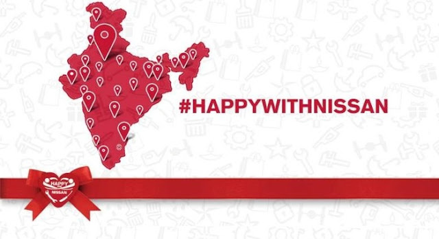 'Happy With Nissan' Campaign, Launched By Nissan