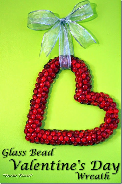 easy dollar store valentine's day wreath