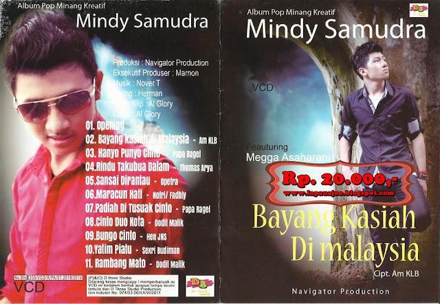 Mindy Samudra - Bayang Kasiah Di Malaysia (Album Pop Minang Kreatif)
