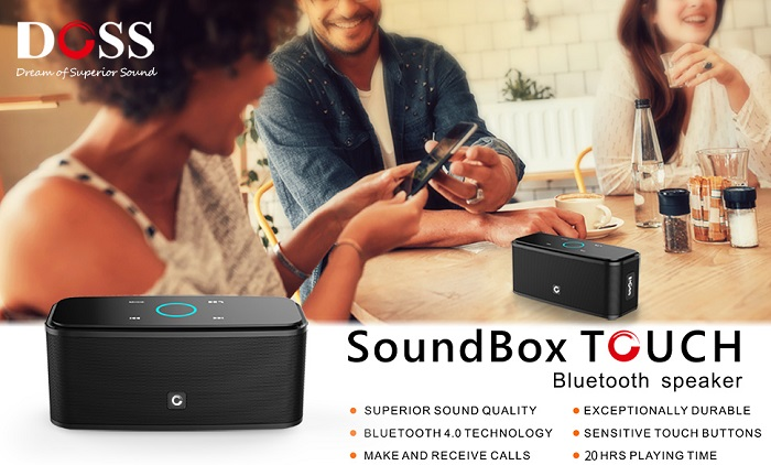 DOSS SoundBox - 12W HD Bluetooth Speaker