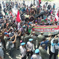 Ratusan Petani Long March ke Kompleks Perkantoran Pemkab Tebo