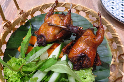 Mrs Pho House, five spice butter quail