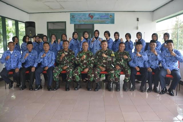 KASIREN KOREM 062/TN HADIRI SYUKURAN HUT KE-49 KORPRI TAHUN 2020