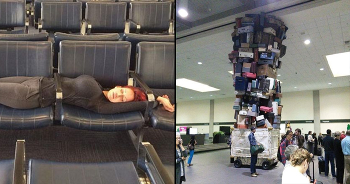 16 Photos Proving That Airports Are Crazy Places Where Anything Can Happen