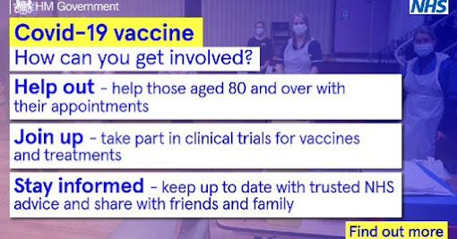 COVID vaccine get involved