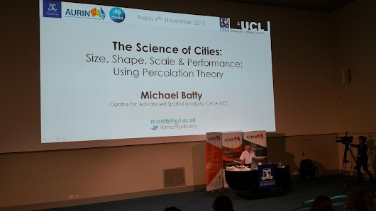 The Science of Cities by Michael Batty