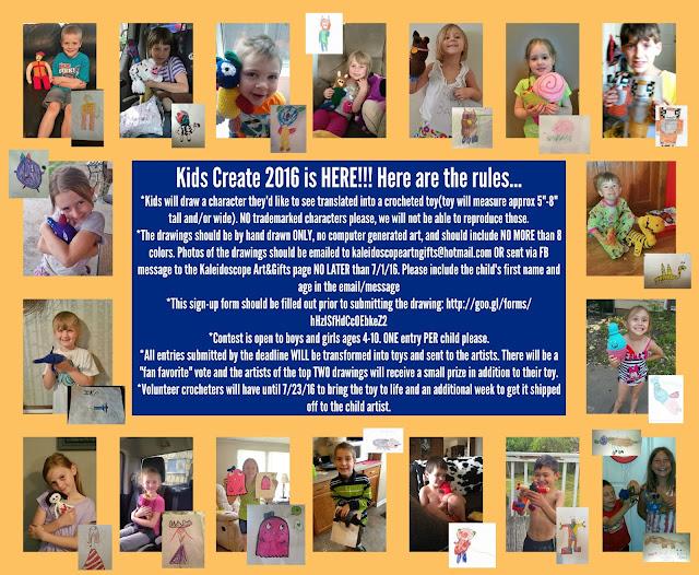 2016 Kids Create Event~Kaleidoscope Art&Gifts