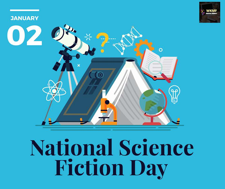 National Science Fiction Day Wishes Images download