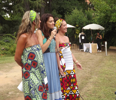 Organizadors do Urban Market com a organizadora do festival Um Porto de Contos