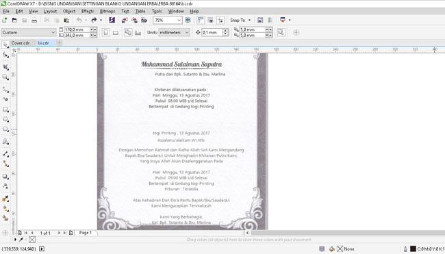 Download Contoh Undangan Tasyakuran Haji Nusagates