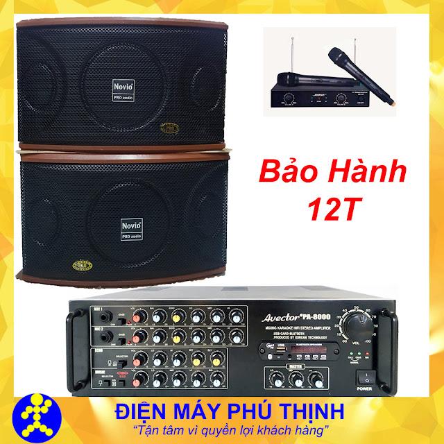 Dàn máy karaoke gia đình giá rẻ hát hay - D04