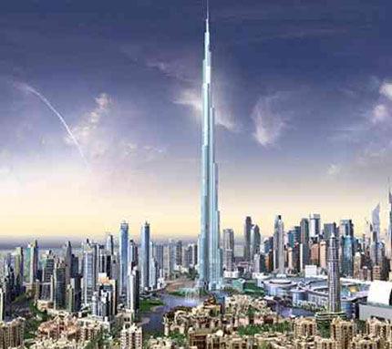 All World Visits: Burj Dubai Tower Opening