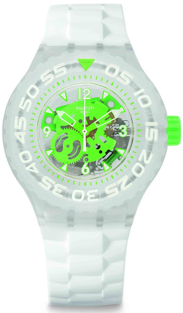 Swatch Scuba Libre CHLOROFISH Price Rs 4580