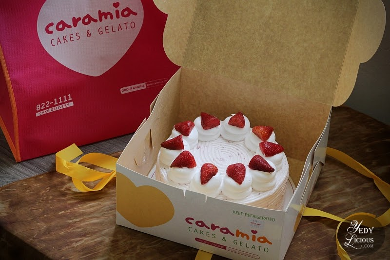 Caramia PH Strawberry Shortcake Blog Review by YedyLicious Manila Food Blog Yedy Calaguas, Best Strawberry Shortcake in the Philippines, Best Cakes in The Philippines, Caramia PH Cakes and Gelato Blog Review Manila Philippines Caramia Cakes and Gelato Menu Price Branches Address Contact No Website Facebook Twitter Instagram
