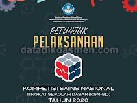 Juklak Kompetisi Sains Nasional (KSN) Jenjang SD Tahun 2020
