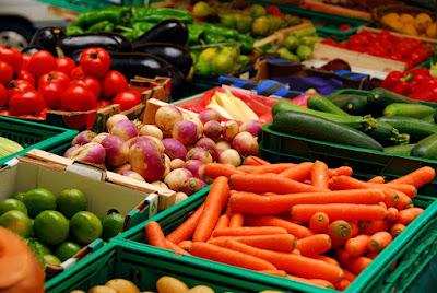 Alimentos productos orgánicos