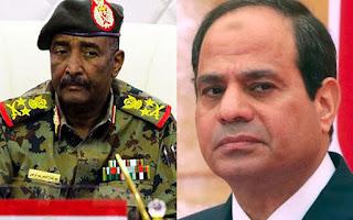 """المجلس العسكري السوداني يطلب من """"الرئيس السيسي"""" مساعدته على كسر العصيان المدني """"اضغط للتفاصيل"""""""