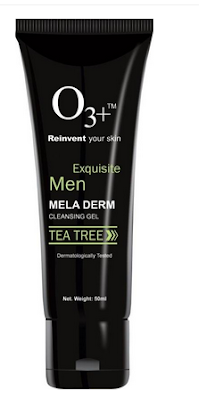O3+ Men Tea Tree Mela Derm Cleansing Gel Face Wash (Price Rs 390)