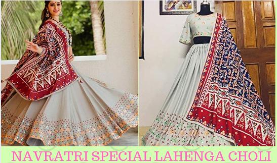 Navratri Special Woman  Lahenga Choli