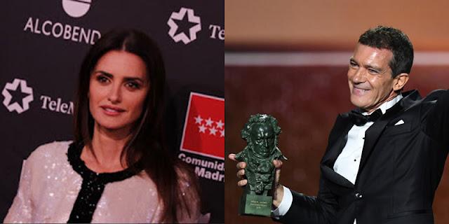 Penélope Cruz y Antonio Bandera en 'Competencia Oficial'