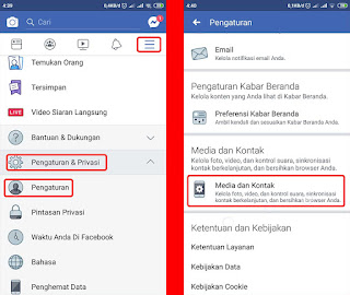 pengaturan putar video otomatsi facebook