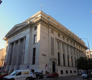 το κτίριο της Τράπεζας της Ελλάδος στη Θεσσαλονίκη