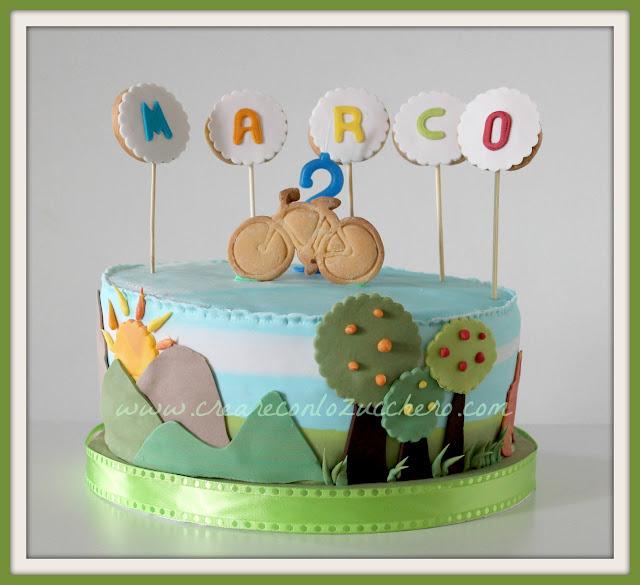 Creare Con Lo Zucchero Buon Compleanno Marco