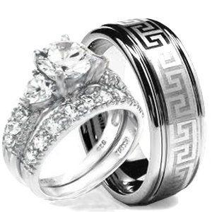 Real Cheap Wedding Rings Sets For His And Her Best Of The Best