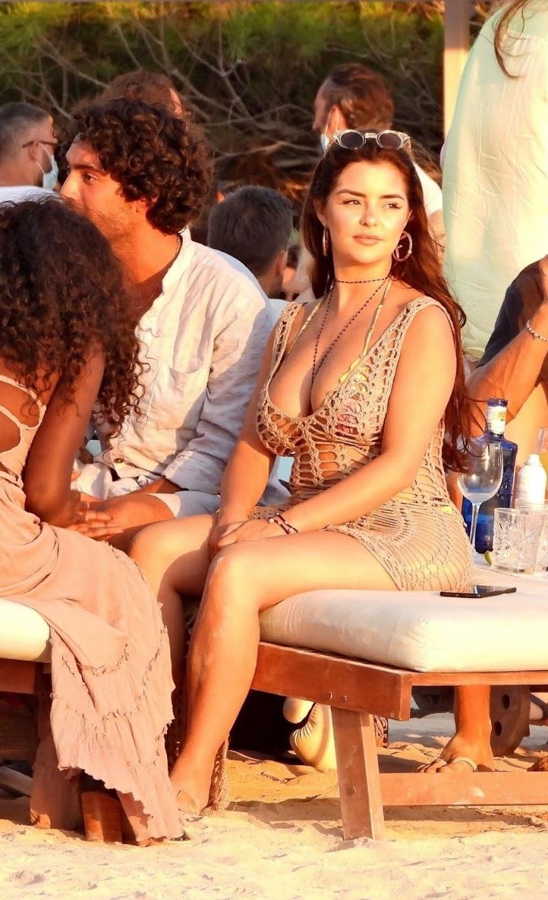 Demi Rose Clicked in a Tiny Bikini at Experimental Beach in Formentera 28 Jul -2020