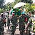 Wujud Empati dan Bentuk Penghormatan Kepada Pejuang, Koramil Bobotsari Hadiri Pemakaman Anggota Veteran RI