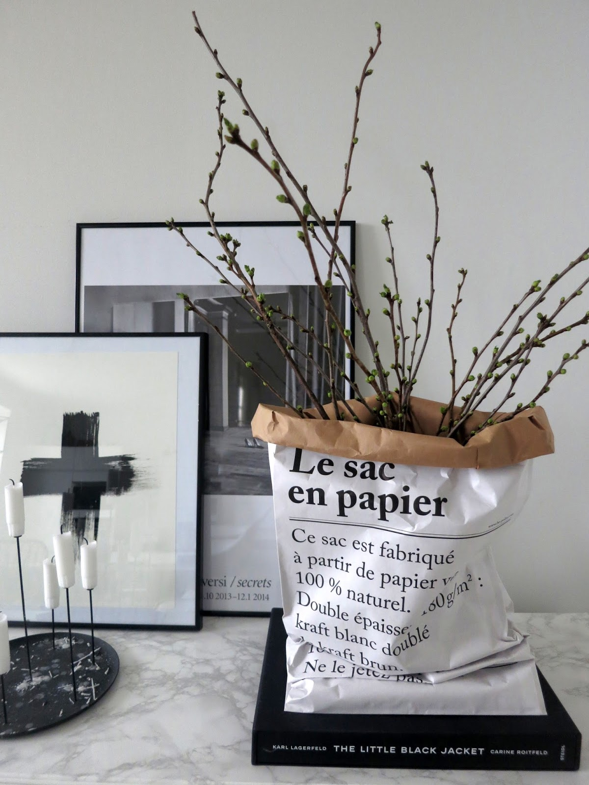 plateful of love le sac en papier the paper bag. Black Bedroom Furniture Sets. Home Design Ideas