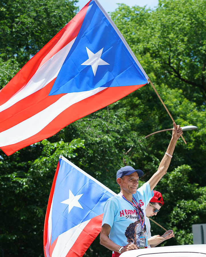 a photo of the puerto rican day parade 2017 in new york by daniel south