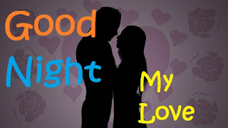 good night kiss to girlfriend