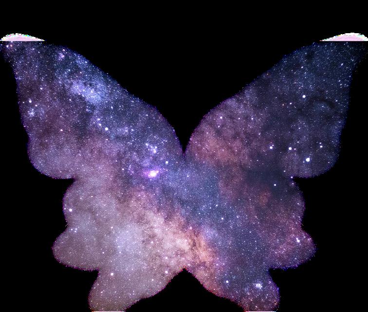 alas de mariposa galaxia