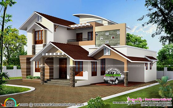 South facing vastu home in 2448 sq-ft