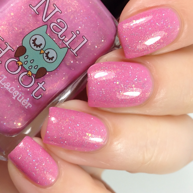 Nail Hoot-Keep Calm & Fight On
