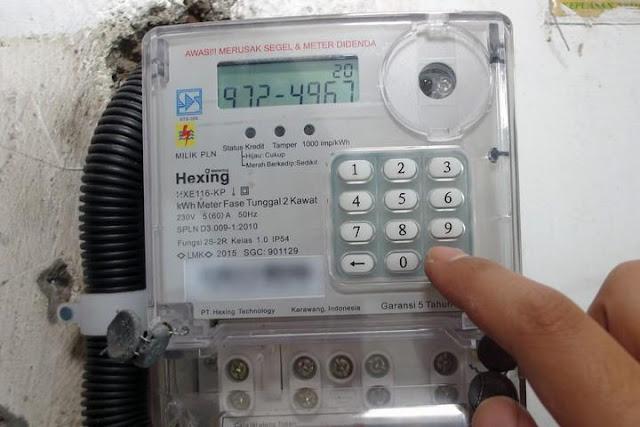 Cara Input Token PLN Pada Meteran Listrik