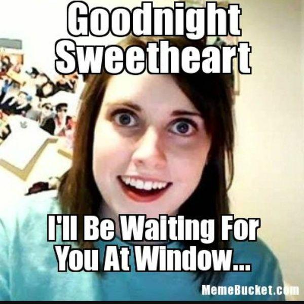 Good Night Sweetheart Funny Meme, Image