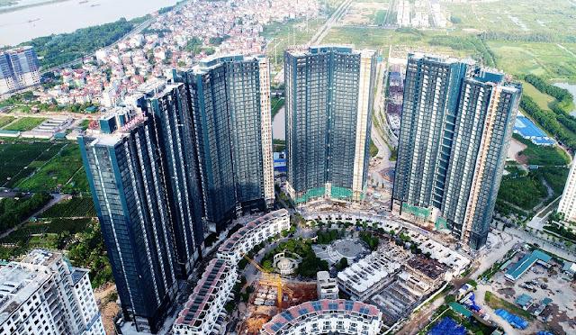 Bảng giá căn Duplex tiến độ xây dựng dự án chung cư Sunshine City Ciputra Hà Nội